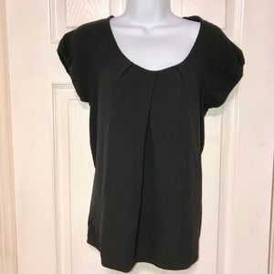 Theory Blouse with cap sleeves EUC